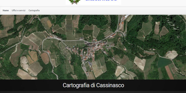 Cartografia di Cassinasco